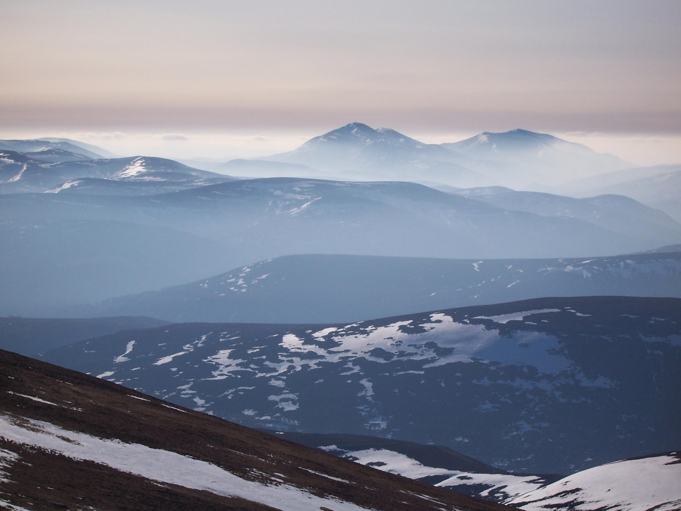 Cairngorm view, Ben Avon