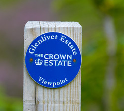 Glenlivet estate waymark