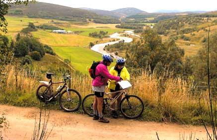 Cycling in Glenlivet
