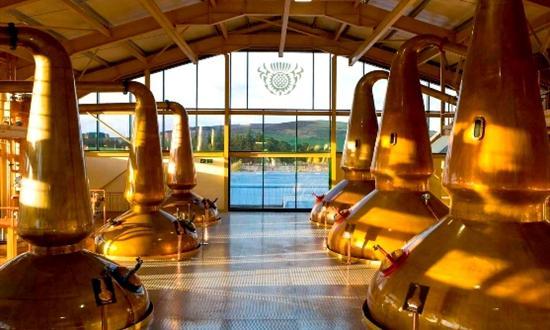 Stills at Glenlivet distillery