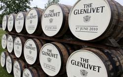 Barrels of Glenlivet whisky