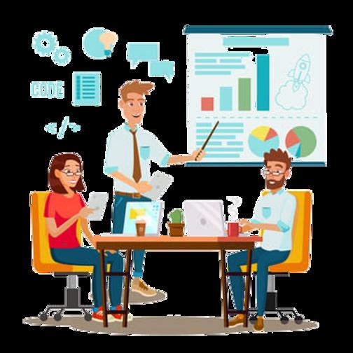 pngtree-team-work-brainstorming-vector-p