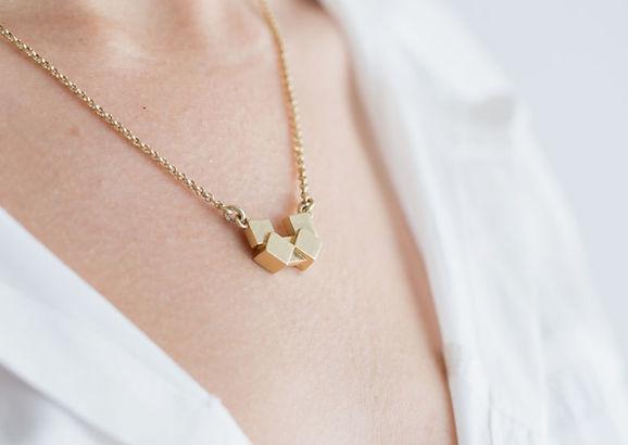 黄金のネックレス