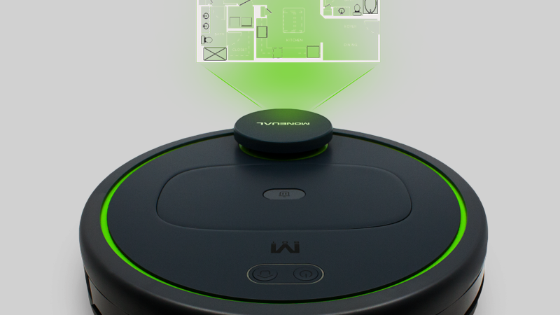 MONEUAL MBOT900 SMART ROBOT VACUUM CLEANER