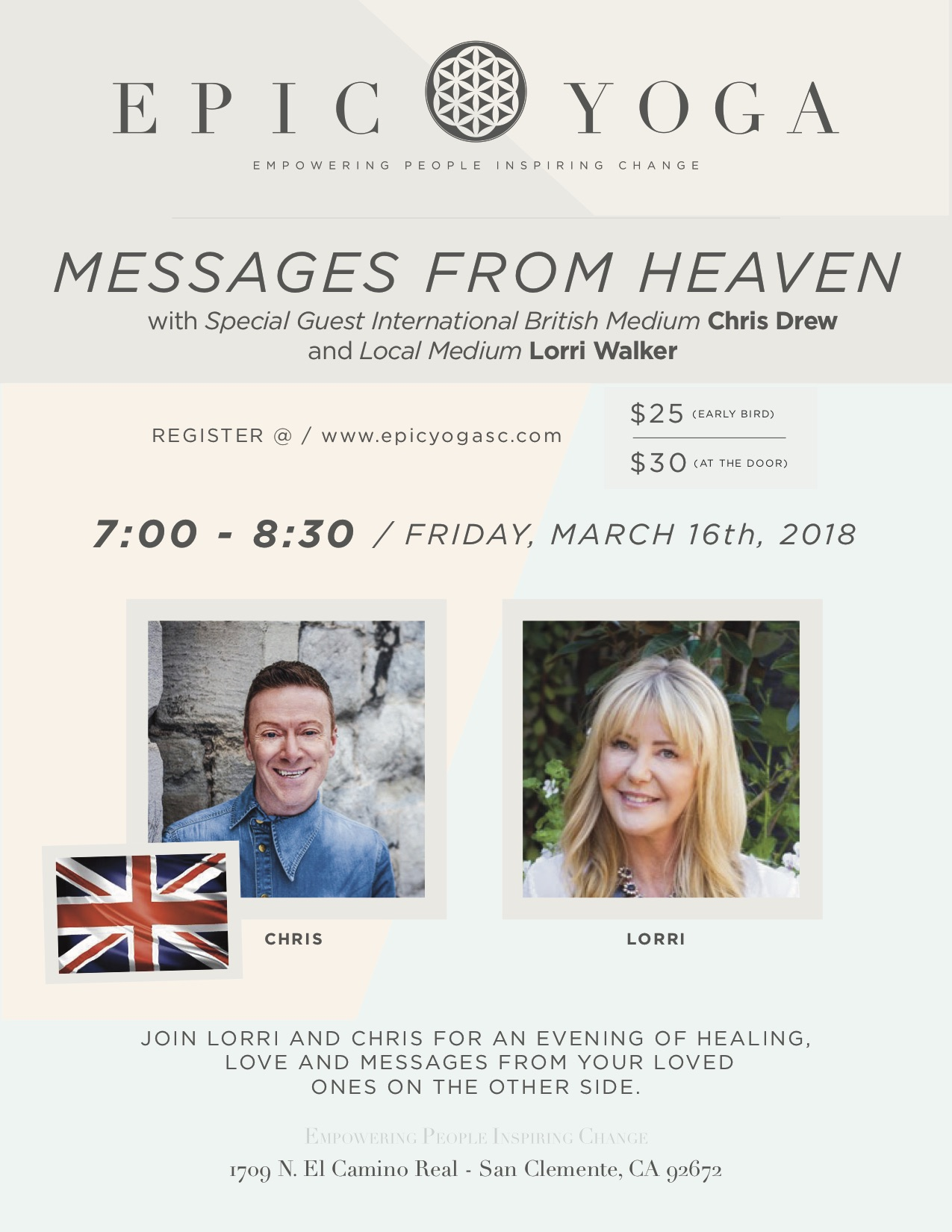 MESSAGES FROM HEAVEN_Flyer