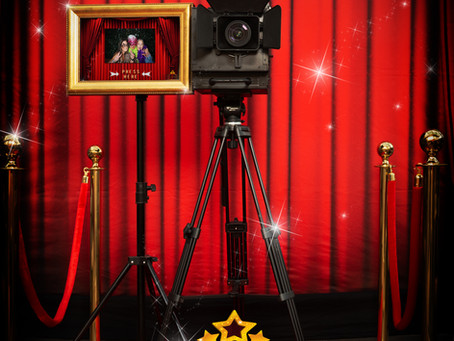 Introducing The Hollywood Movie Camera Photo Booth