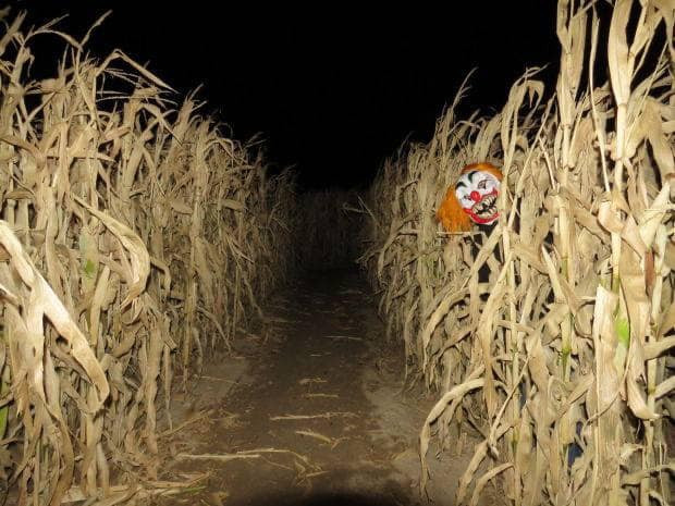 Haunted Corn Maze at the Eureka Fear Far