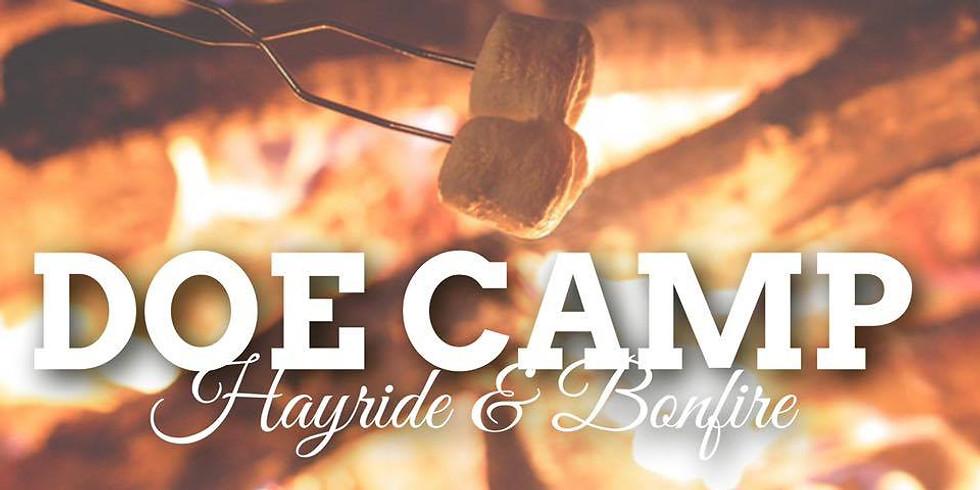 Doe Camp Hayride & Bonfire