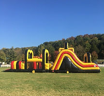 Inflatables at Brookdale Farms