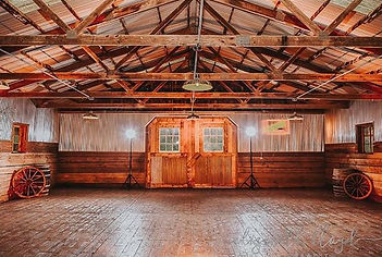 Inside of The Barn at Brookdale Farms