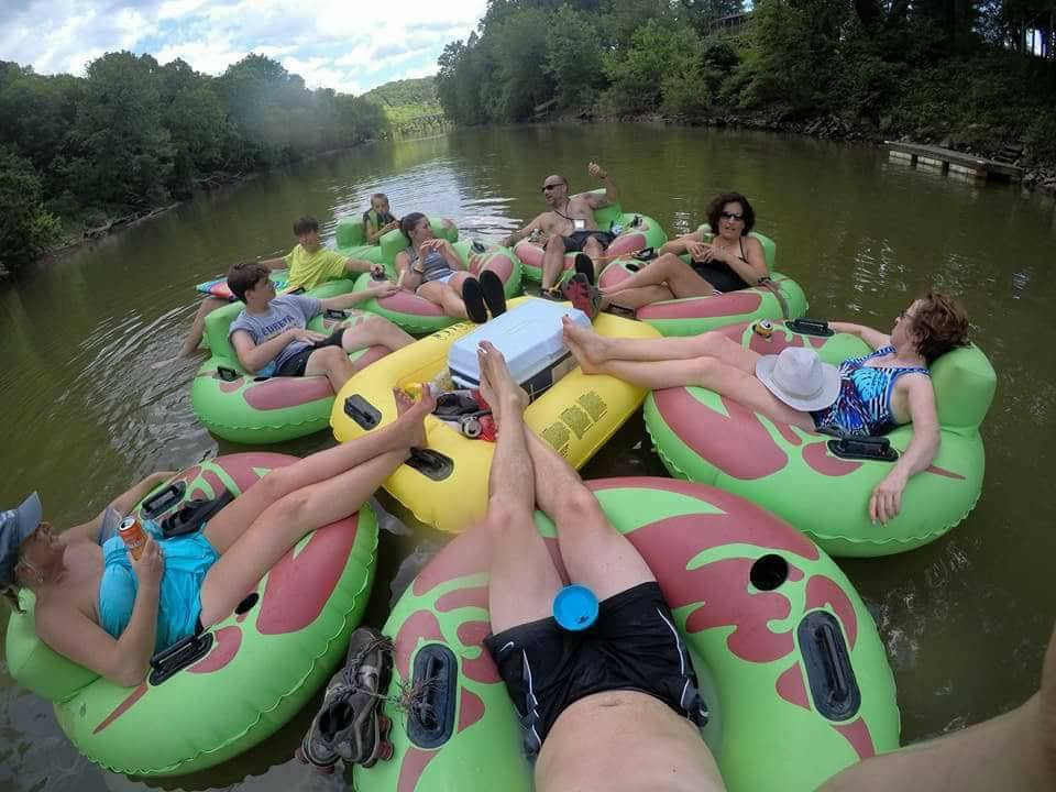 Tube Float at Twin Rivers Canoe Rental