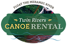 Twin Rivers Canoe Rental logo