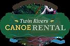 Twin Rivers Canoe Rental logo