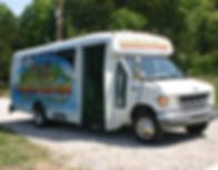 Twin Rivers Canoe Rental transporation bus