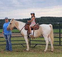 Pony rides at Brookdale farms, Eureka MO