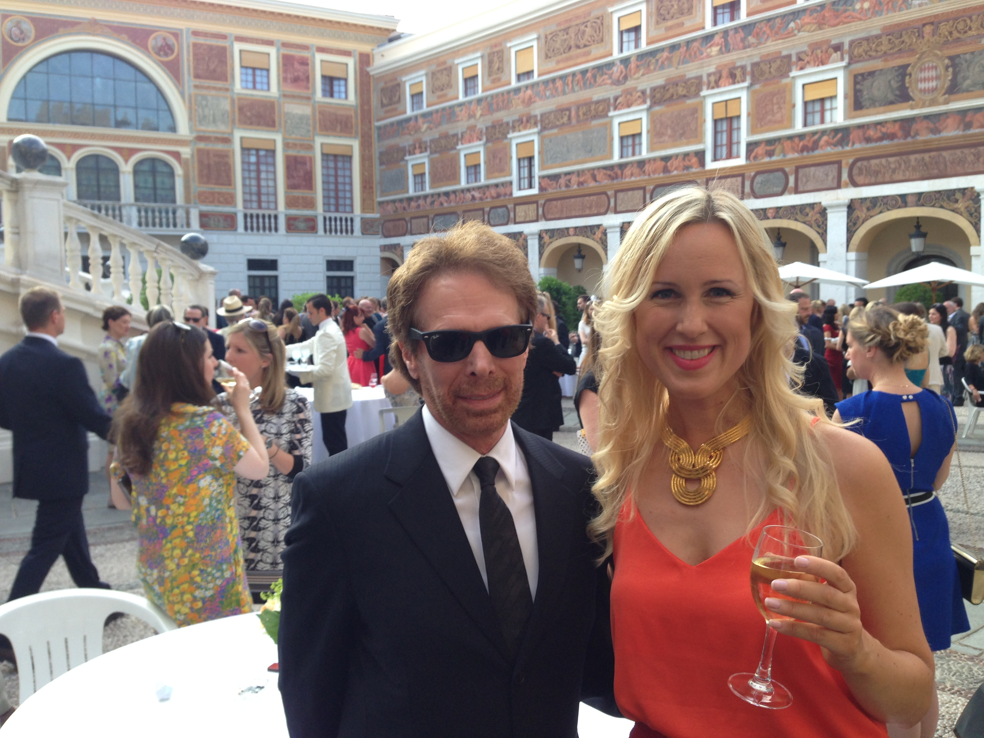 Mona and Jerry Bruckheimer