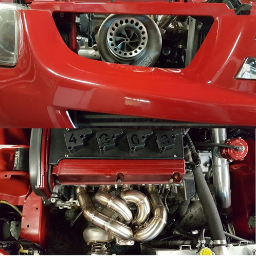 Strictly Modified Evo 8/9 T3 Front Facing Manifold
