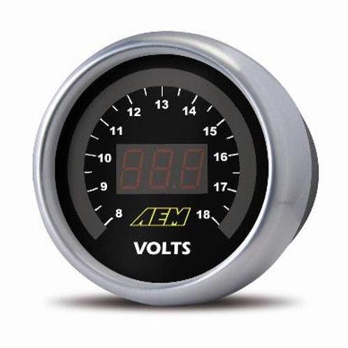 AEM Digital Voltmeter Display Gauge