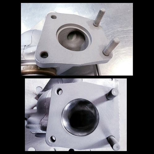 Mitsubishi Ralliart Turbine Housing Porting and Ceramic Coating Service