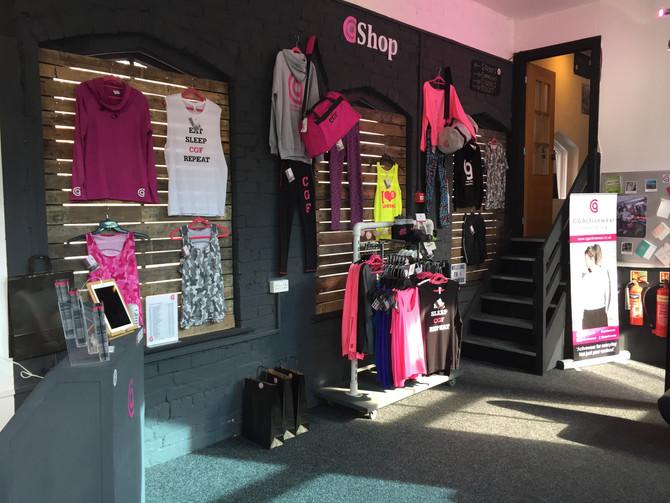 CGActivewear Shop NOW OPEN!