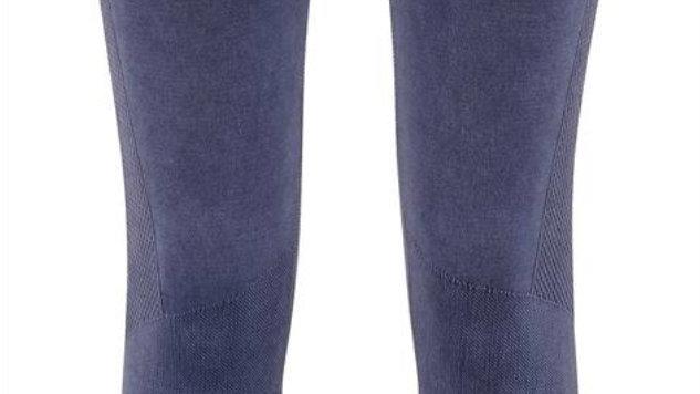 Blue Denim effect long leggings