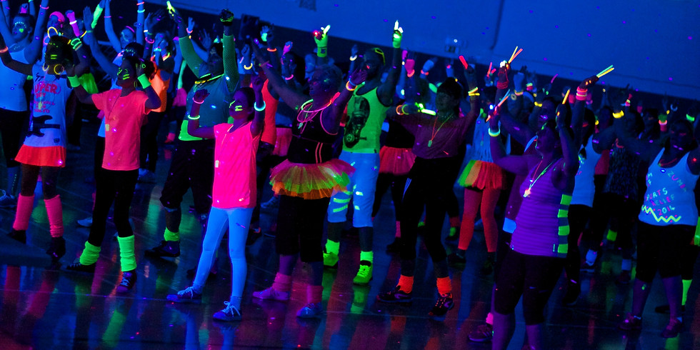 Glow Party Comic Relief