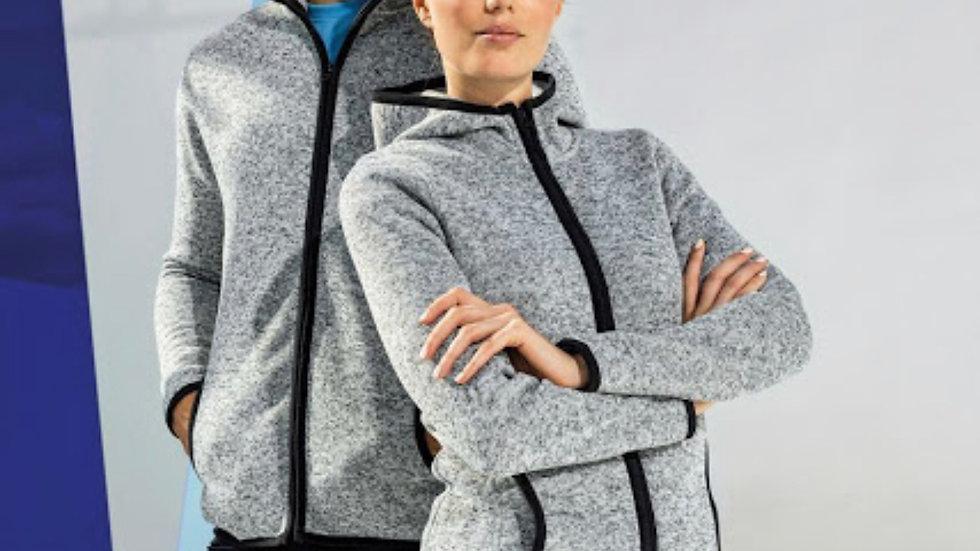 Unisex Grey Fleece Jacket
