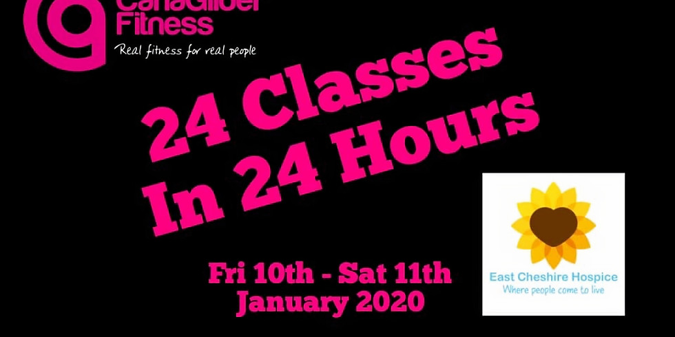 24 Hours of classes at CGF