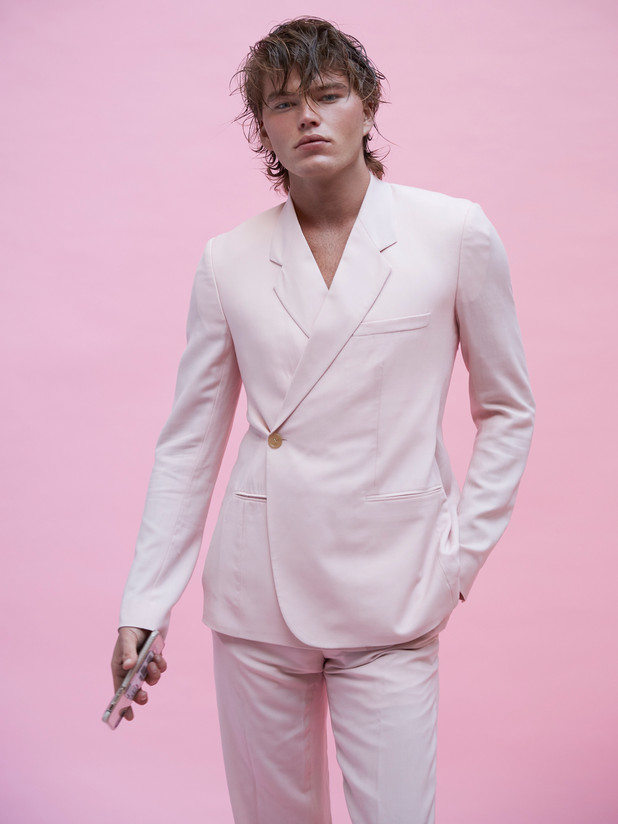 Jordan Barrett - Hunter magazine