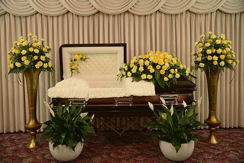 Sunny Memories Rose & Carnation Tribute