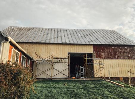 Making a Barn The Barn