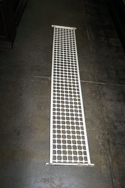 Victorian Fretwork - White Painted