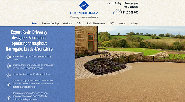 Resin Driveways Harrogate