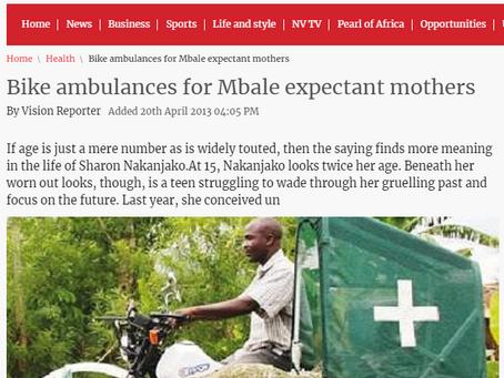 In the Press - NewVisionUganda Article