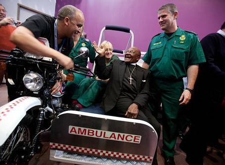 In the Press - Archbishop Desmond Tutu visits PONT Project