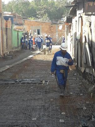 Trabalho junto aos órgãos competentes permite serviços em diversas regiões da cidade