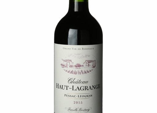 Château Haut-Lagrange 2015 - Bouteille
