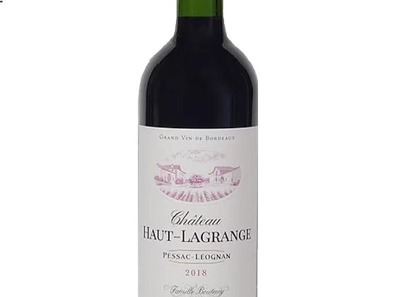 Château Haut-Lagrange 2018 - Bouteille