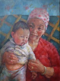 'Proud Grandmother. Mongolia'