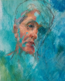 'Head 4' Selected for Cumbrian Artist of the Year Exhibition 2015
