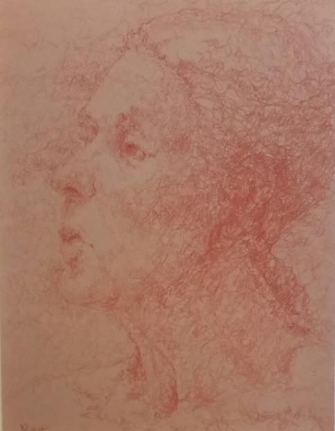 Male Head Drawing 2018