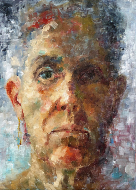 'Head Study 2nd June' Selected for Cumbrian Artist of the Year Exhibition 2016
