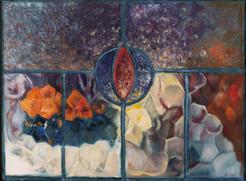 'Window 2 - Candles & Fruit' 2015