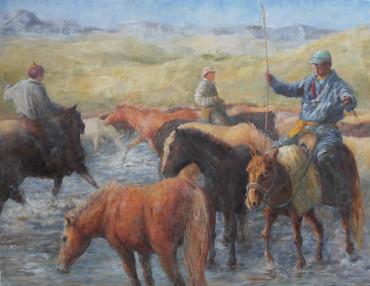 'Herders & Horses. Mongolia'