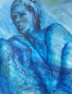 'Natasha in Blue' 2019