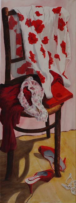 #'Still Life with Red Shoes' 2011