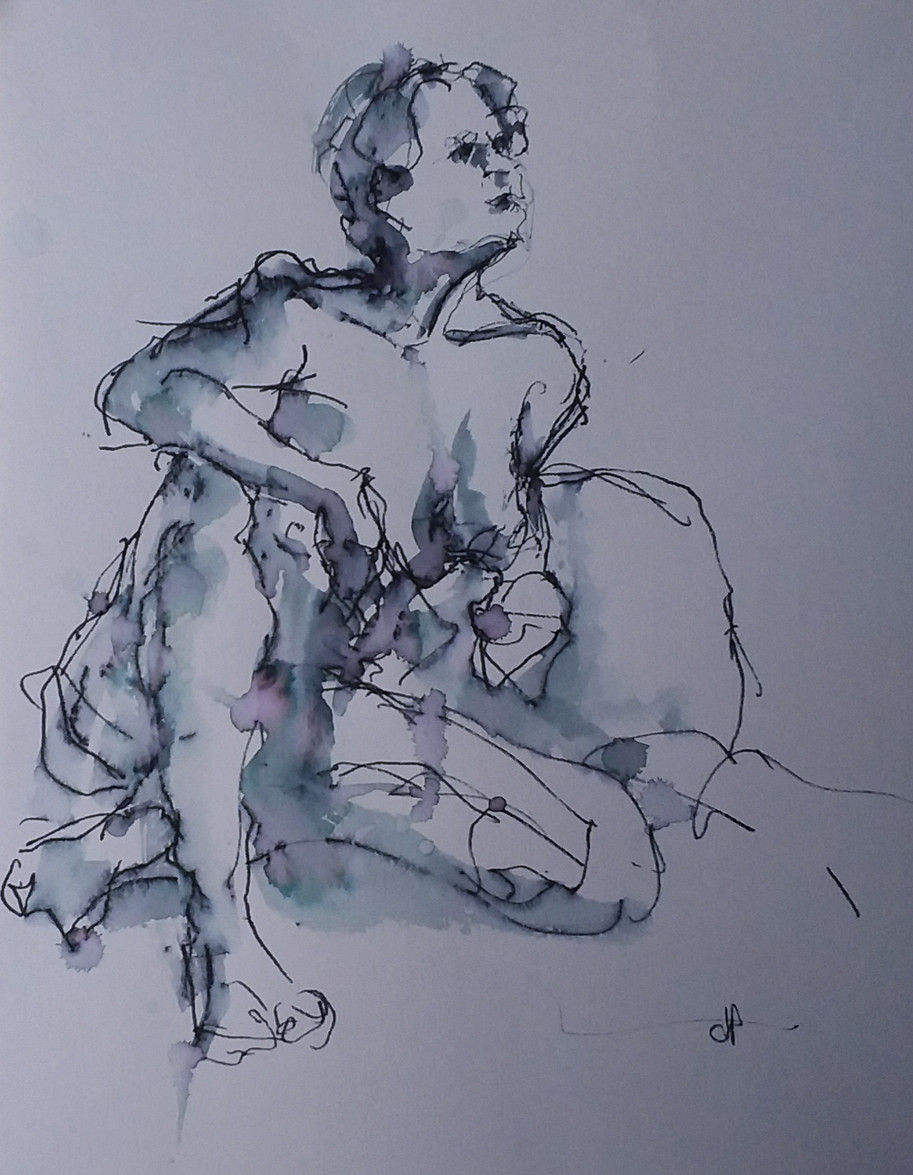 'Life Model - Relaxed' (L) Hand
