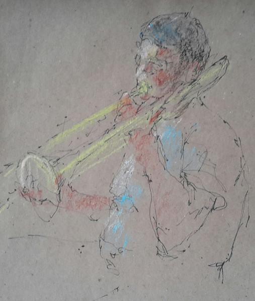 Jazz Club trombone