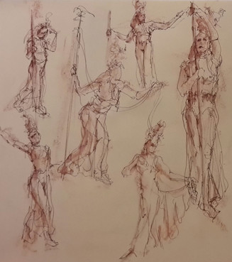 Drawing Circus - Day & Night model 2