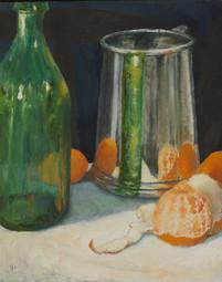 #'Still Life with Tangerines' 2013